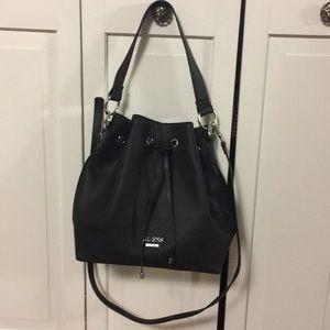 Guess black handbag